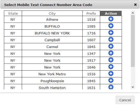 mobiletextconnectareacode