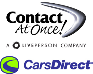 CarsDirect Chat Powered by ContactAtOnce!
