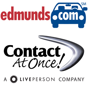 edmunds selects contact at once dealer chat