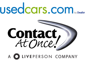 used cars selects contact at once dealer chat