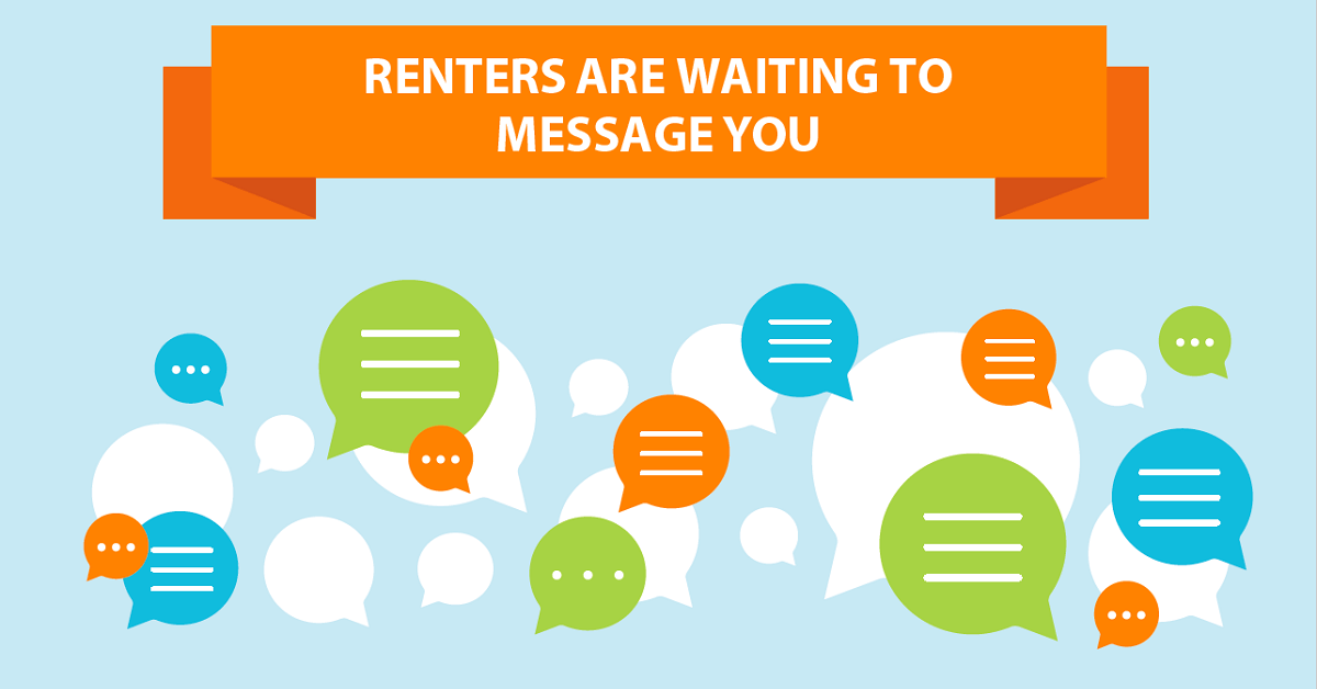 renters are waiting to message you