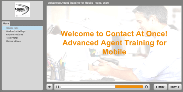 Mobile App for Agents